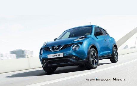 Nissan JUKE od 137€ mesačne s kompletným poistením